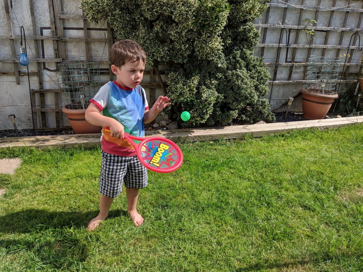 Enjoying Our Garden with HTI Toys 'Fun Sport' Range {Review}